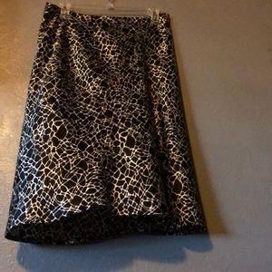 OLD NAVY flared skirt